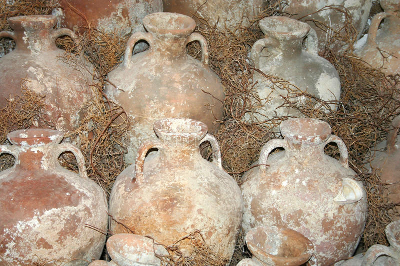 Download Historical amphoras stock image. Image of historical - 23646911