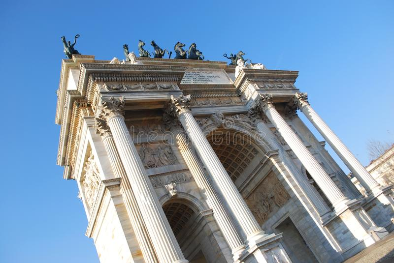 Historical arch royalty free stock images