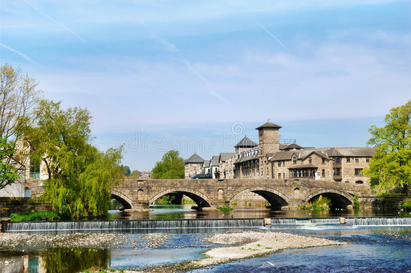 Historical Arched Bridge Royalty Free Stock Images