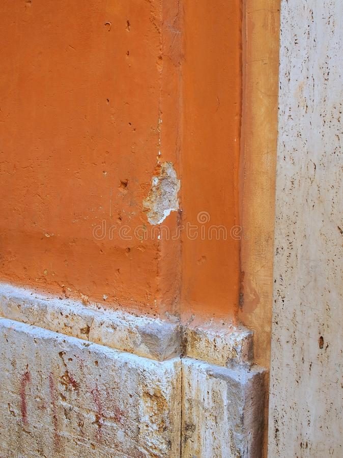 Historical Architectural Detail, Rome, Italy stock image