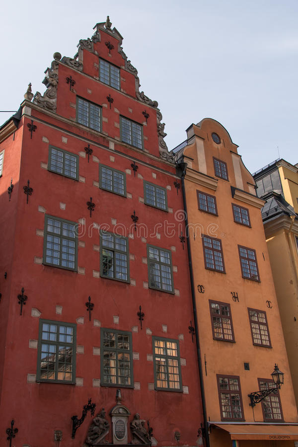 Free Historical Architecture Tower In Stockholm, Sweden Royalty Free Stock Image - 26391486