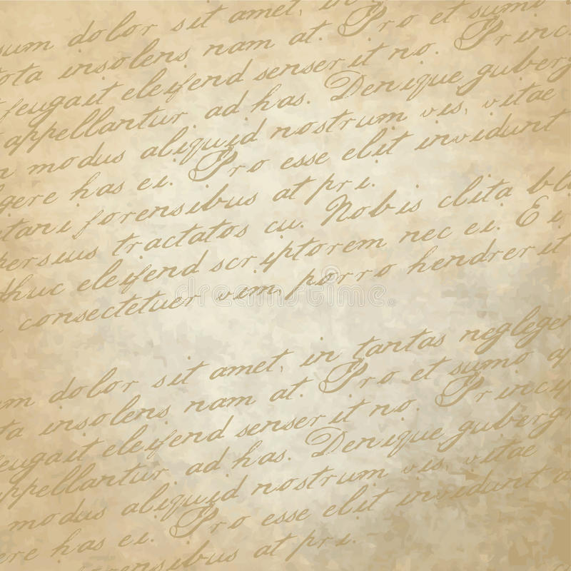 Historical Background. Old paper with copy space vector illustration