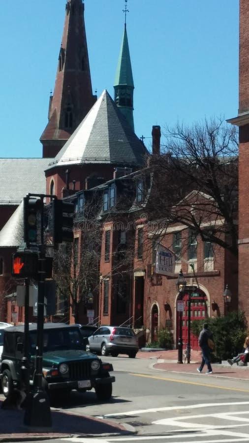 Historical Boston architecture. Boston historical architecture royalty free stock images