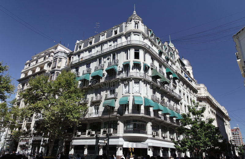 Historical Building Buenos Aires Stock Photos