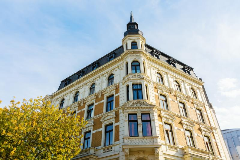 Historical building in the city center of Aachen, Germany. Picture of a historical building in the city center of Aachen, Germany stock images