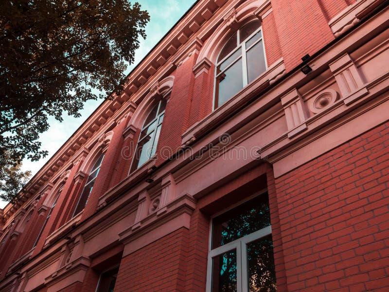 Historical building closeup. Batumi.Georgia royalty free stock images