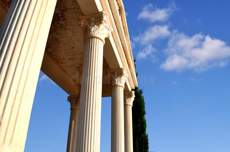 Historical Building In Cyprus Royalty Free Stock Photography
