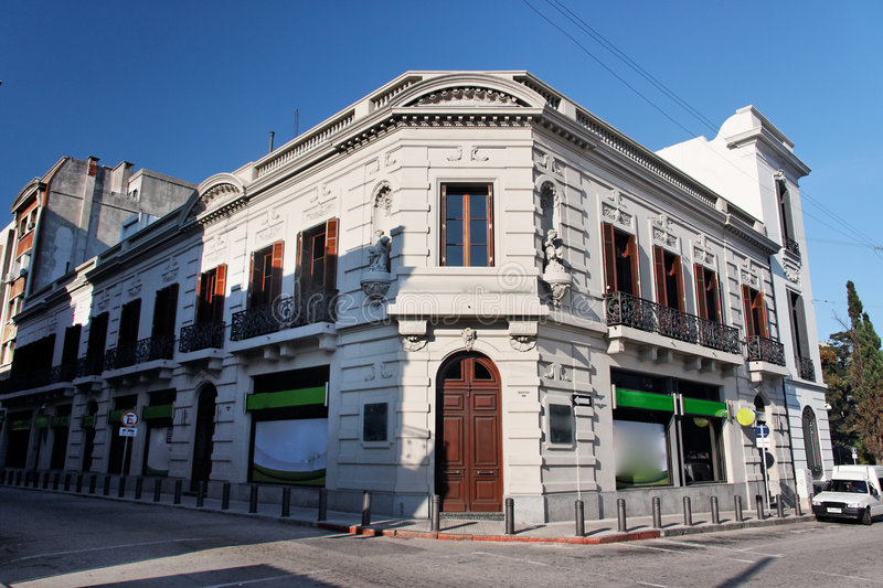 Download Historical Building Facade In Montevideo Stock Image - Image: 5508953