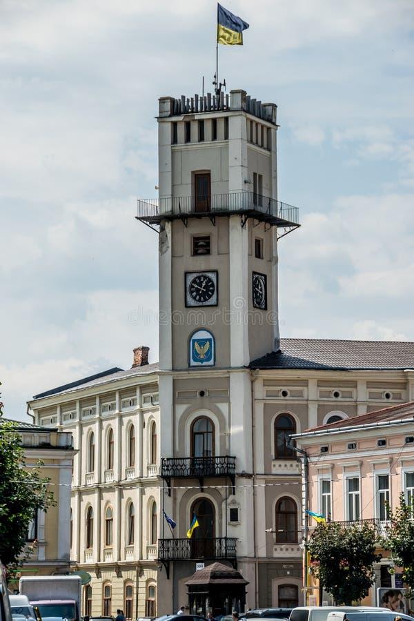 Free Historical Building Of City Hall. Kolomyia, Ukraine Stock Image - 155902391