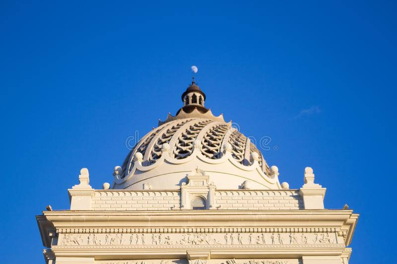historical building - palace stock image