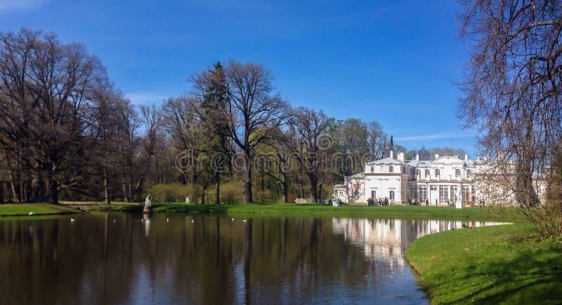 Oranienbaum palace royalty free stock image