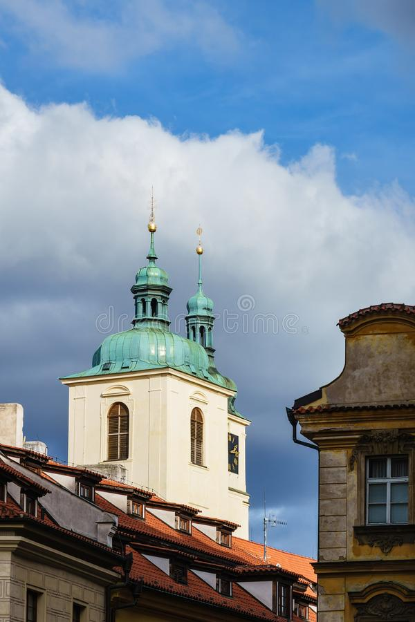 Historical building in Prag, Czech Republic.  stock photos
