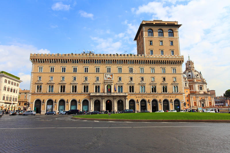Historical Building.Rome royalty free stock photo