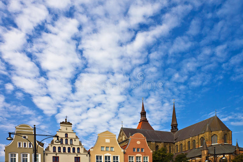 Historical buildings royalty free stock photo