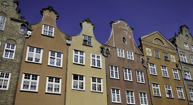 Download Historical Buildings In Gdansk Stock Image - Image: 9131109