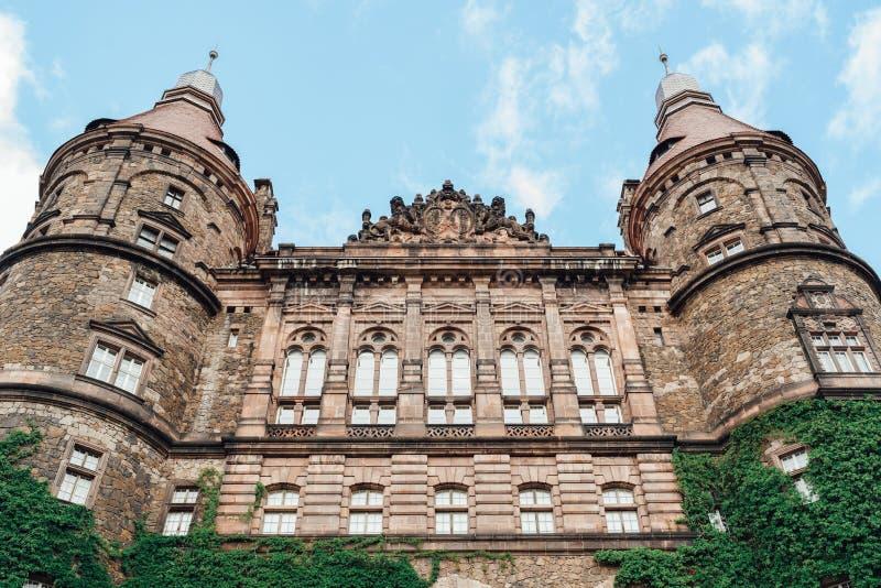 Castle ksiaz in Swiebodzice Poland royalty free stock photography