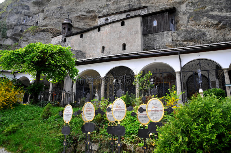 Download Historical Cemetery In Salzburg, Austria Editorial Stock Image - Image: 18160949