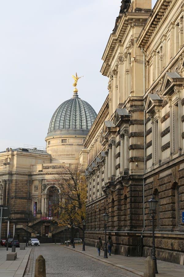 Historical center of Dresden (landmarks), Germany royalty free stock photos