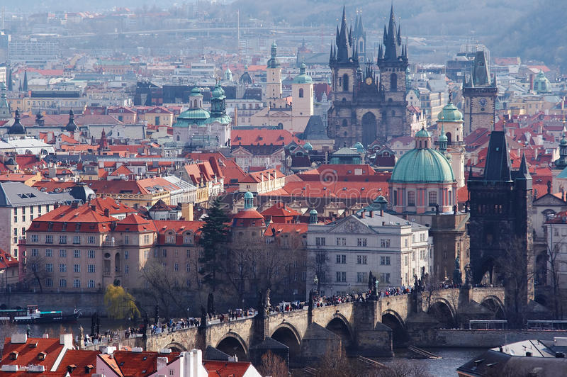 Download Historical Centrum Of The Prague Stock Photo - Image: 18489966