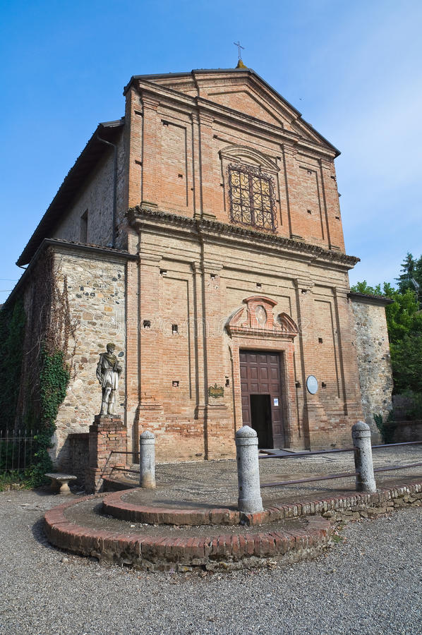 Download Historical Church Of Emilia-Romagna. Italy. Stock Images - Image: 22495574