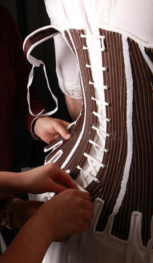 Download Historical corset stock photo. Image of rococo, lacing - 14200428