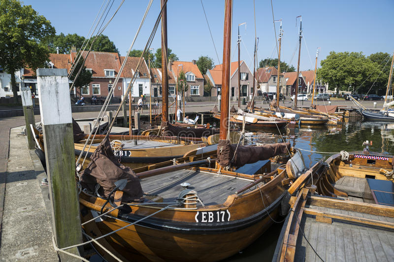 Download Historical Fishing Boats Netherlands Harbor Editorial Photo - Image of vessel, hanseatic: 83708736