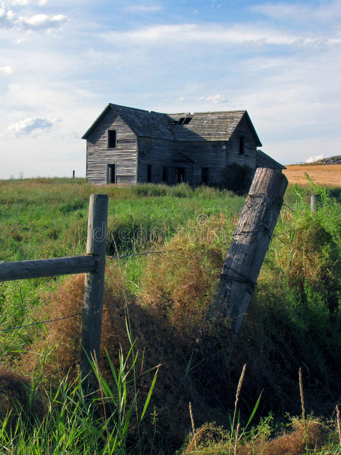 Download Historical Homestead stock image. Image of barbedwire - 18933895
