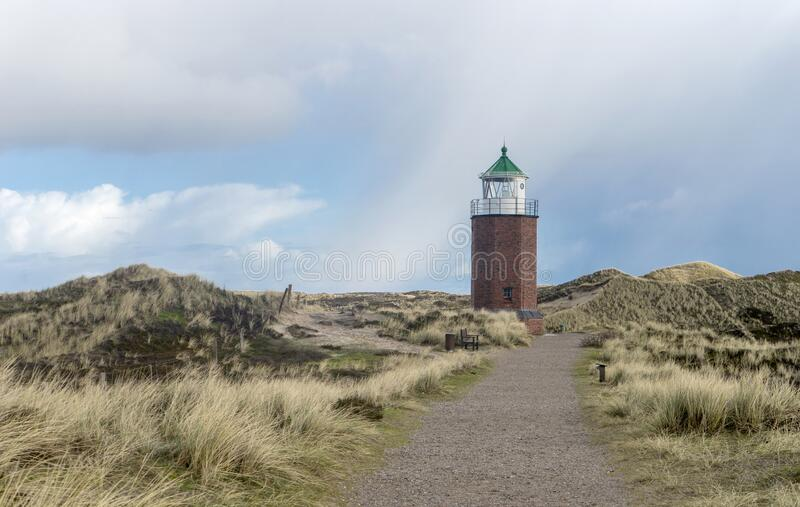 Historical house Cliff-End at the Red Cliff in Kampen royalty free stock image