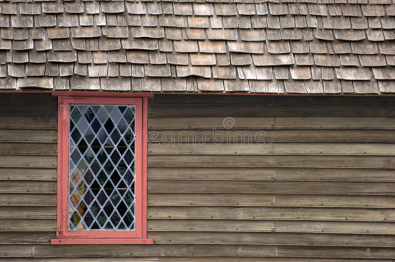 Historical house in Salem stock image