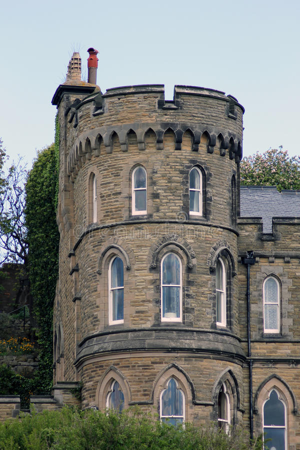 Download Historical House With Turret Stock Image - Image of historical, turret: 25001203