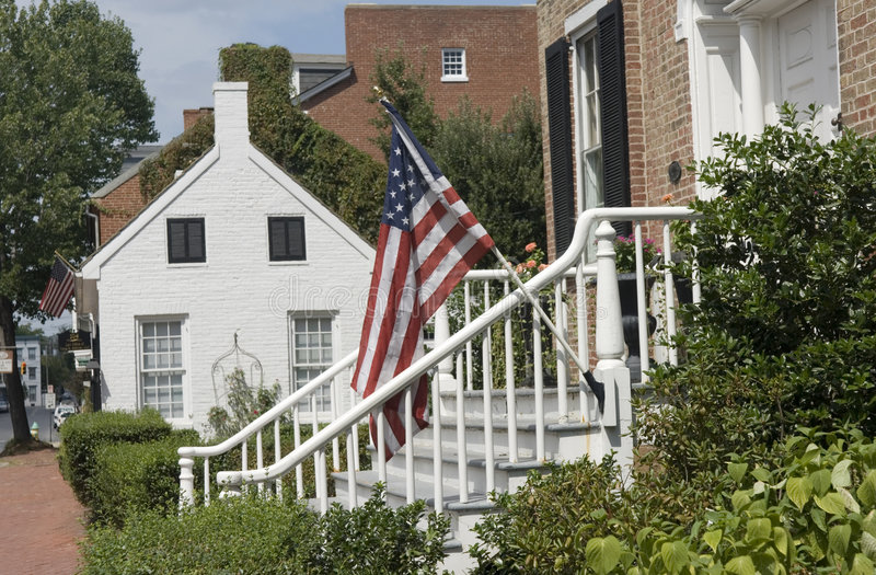 Download Historical Houses In Frederick, Maryland. Stock Image - Image: 1135091