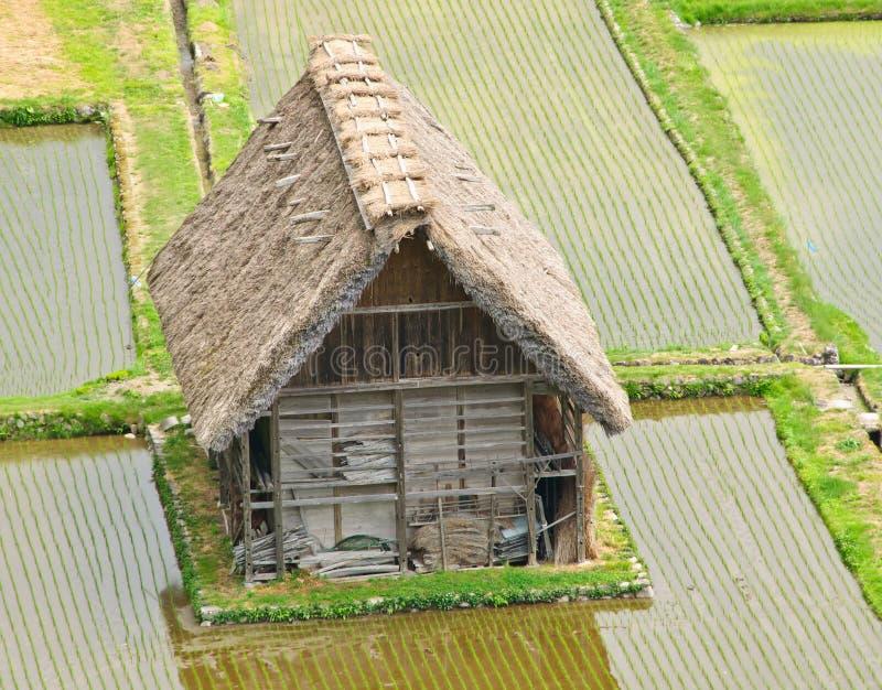 Historical Japanese Village - Shirakawa-go royalty free stock image