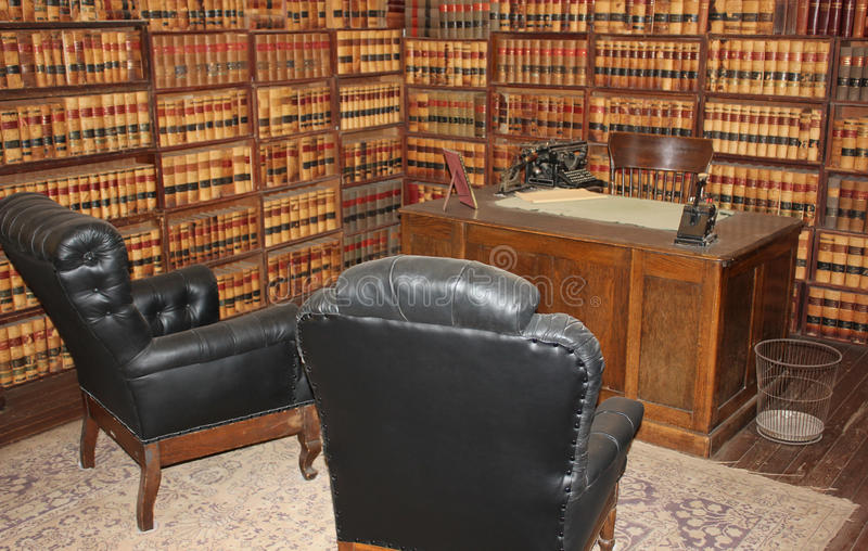 Old Barber Chairs >> Historical Lawyer's Office From 1800's Stock Image - Image ...