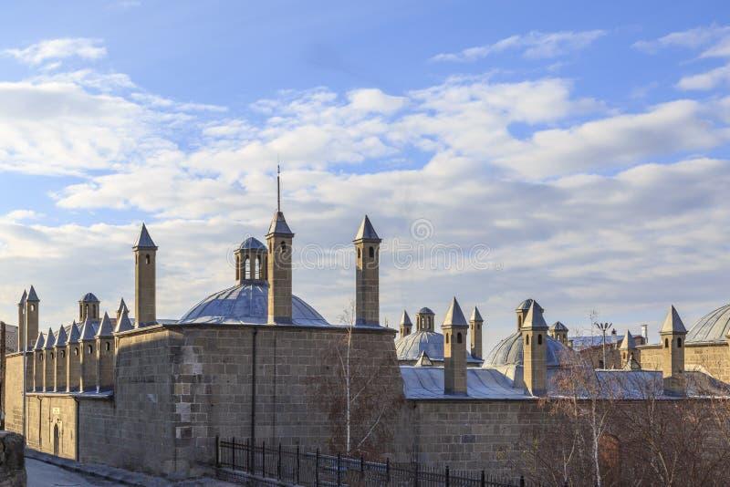 Historical market building tashan in Erzurum. Turkey royalty free stock images