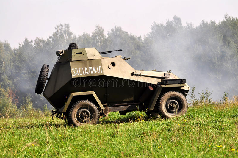 Historical Military Vehicle Royalty Free Stock Photography