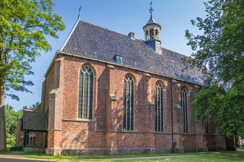 Historical monastery in Ter Apel. The Netherlands royalty free stock photos