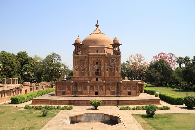 Historical Monument in Uttar Pradesh, India. Historical Monument in Allahabad, Uttar Pradesh, India royalty free stock photo