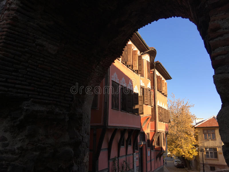 Historical Museum in Plovdiv. Historical Museum in the old town of Plovdiv Bulgaria royalty free stock photo
