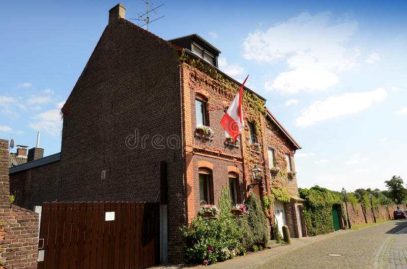 Historical Old House Royalty Free Stock Photos