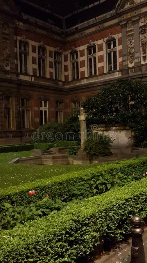 Download House stock photo. Image of statue, historical, twilight - 109658882