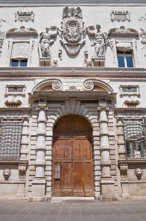 Historical palace of Ferrara.