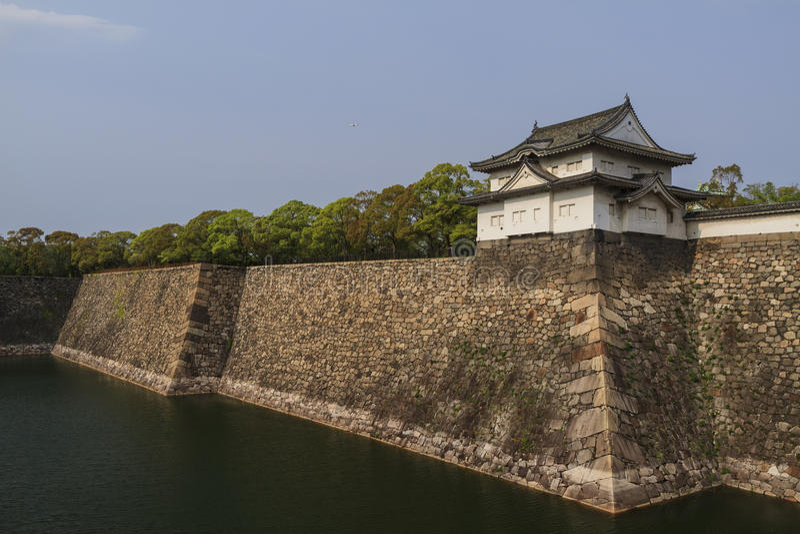 Historical park - Sunpujo Park. At Shizuoka, Shizuoka Prefecture royalty free stock photo