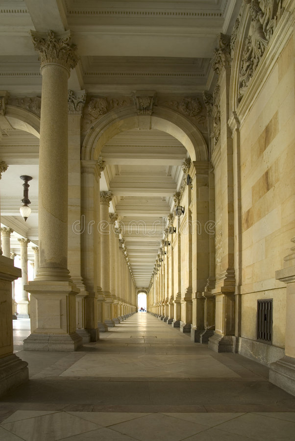 Download Historical passageway. stock image. Image of past, history - 2400611