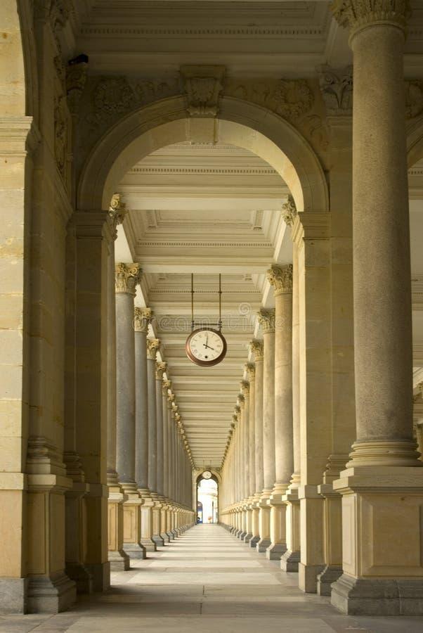 Historical passageway. royalty free stock photos
