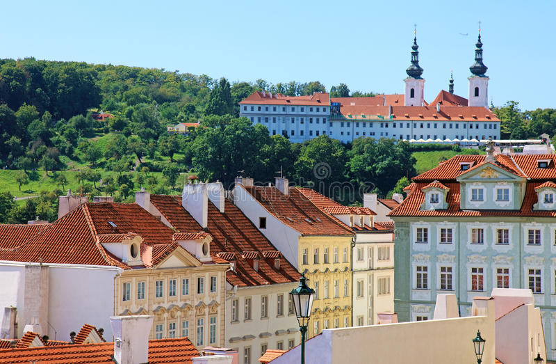 Download Historical Prague center. stock photo. Image of architecture - 22627584