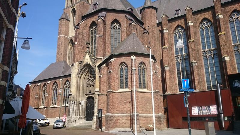 Historical and romantic city Roermond Netherlands stock images