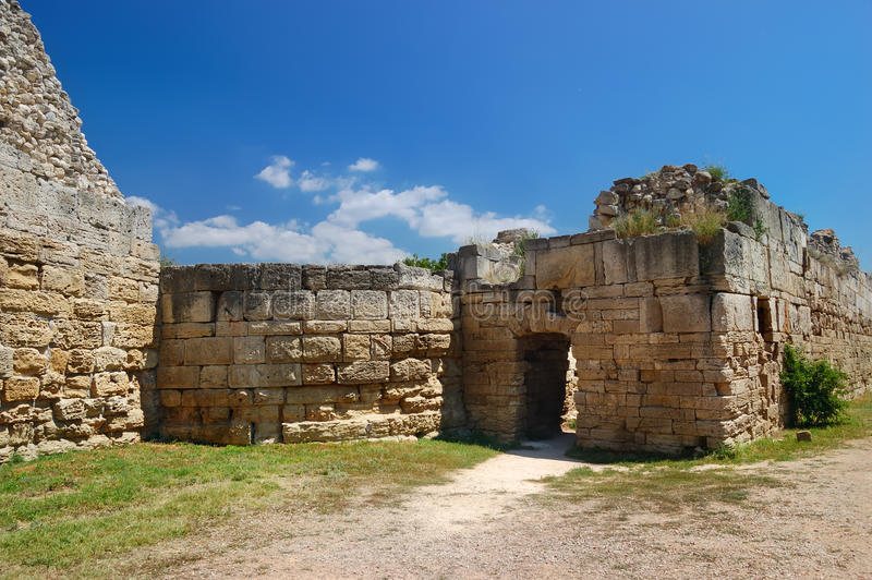 Historical Ruins Royalty Free Stock Photography