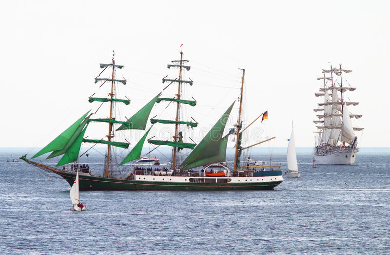 Download HISTORICAL SEAS TALL SHIPS REGATTA 2010 Editorial Photography - Image: 14448702