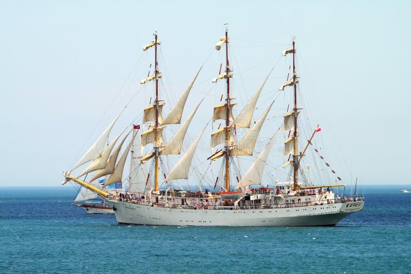 HISTORICAL SEAS TALL SHIPS REGATTA 2010 Editorial Stock Image