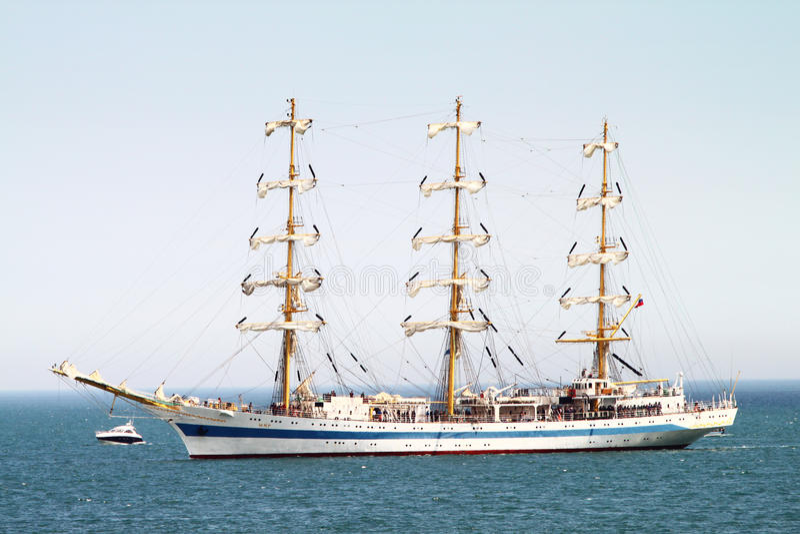 Download HISTORICAL SEAS TALL SHIPS REGATTA 2010 Editorial Stock Photo - Image: 14450923